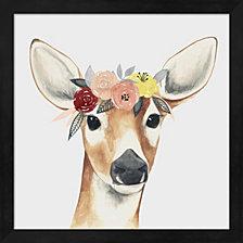 Flower Crown Forester I By Grace Popp Framed Art