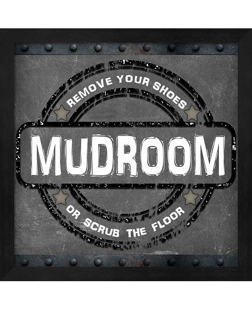 Metaverse Mudroom 2 By Lightboxjournal Framed Art