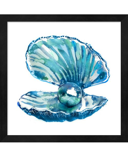 Metaverse Oyster By Edward Selkirk Framed Art