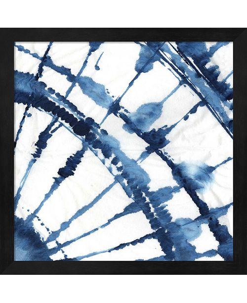 Metaverse Indigo Dye Ii By Aimee Wilson Framed Art