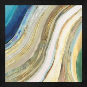 Agate I By Pi Galerie Framed Art
