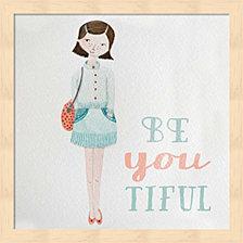 Be Girl I by Sarah Gardner Framed Art