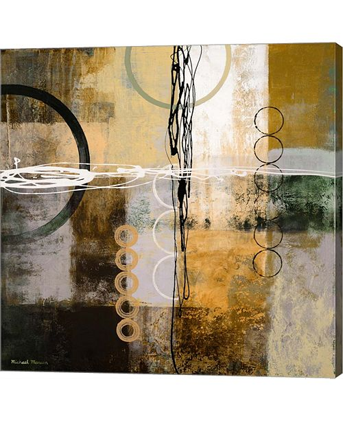 Metaverse Intersect Ii By Michael Marcon Canvas Art