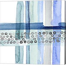 Cross Stitch Iii By Grace Popp Canvas Art