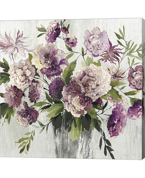 Metaverse Purple Bouquet By Asia Jensen Canvas Art