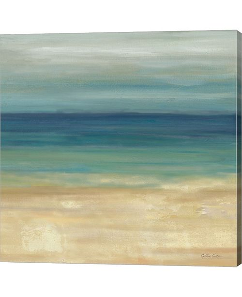 Metaverse Navy Blue Horizons 2 By Cynthia Coulter Canvas Art