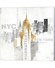 Empire State Buildin By Avery Tillmon Canvas Art