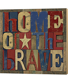 Patriotic Printer 1 By Tara Reed Canvas Art