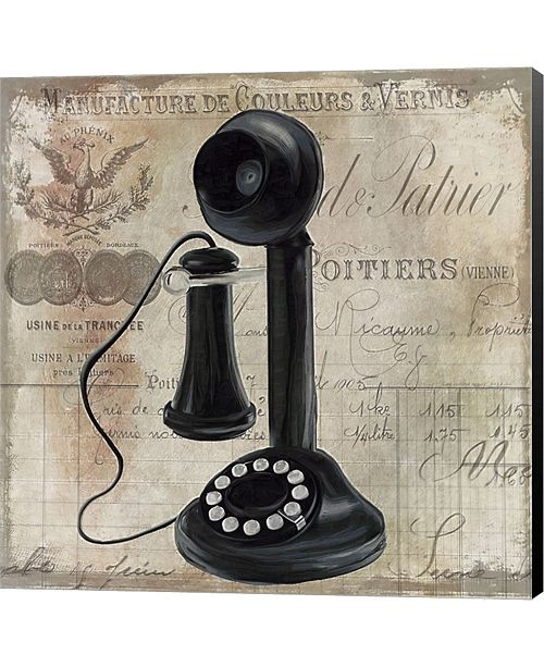 Metaverse Call Waiting I By Color Bakery Canvas Art