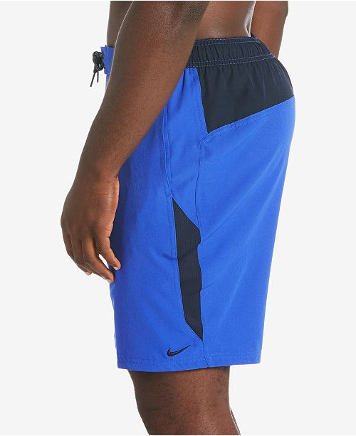 "Nike Men's Contend 2.0 Colorblocked 9"" Volley Swim Trunks"