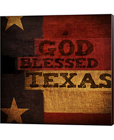 God Blessed Texas By Dallas Drotz Canvas Art