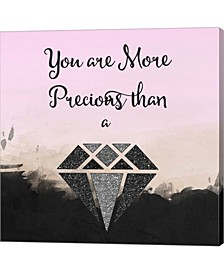 More Precious By Tina Lavoie Canvas Art