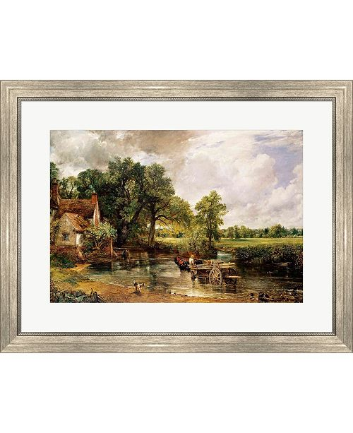 Metaverse The Hay Wain 1821 By John Constable Framed Art