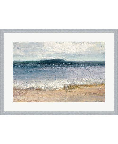 Metaverse Indigo Isle By Julia Purinton Framed Art
