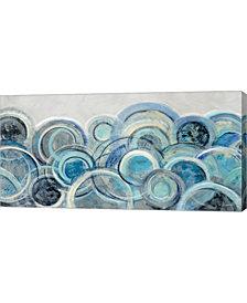 Variation Blue Grey By Silvia Vassileva Canvas Art