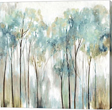 Grace Land Teal Version by Allison Pearce Canvas Art