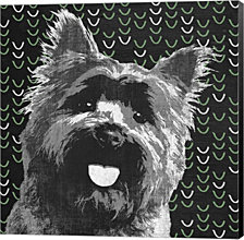 Yorkie By Posters International Studio Canvas Art