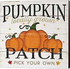 Pumpkin Patch by Jennifer Pugh Canvas Art