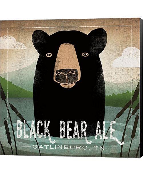 Metaverse Skinny Dip Black Bear Ale By Ryan Fowler Canvas Art