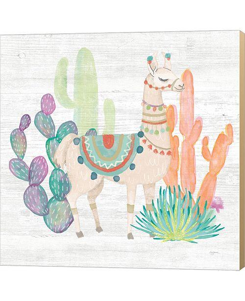 Metaverse Lovely Llamas Ii By Mary Urban Canvas Art