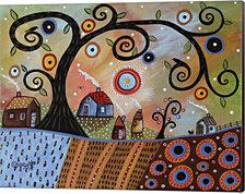 Fall Day 1 by Karla Gerard Canvas Art