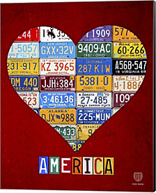 America By Design Turnpike Canvas Art