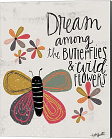 Butterfly by Katie Doucette Canvas Art