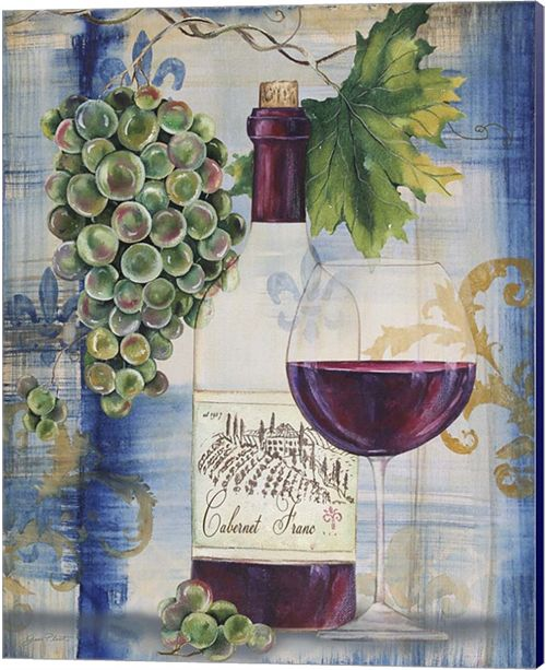 Metaverse Royal Wine I By Jean Plout Canvas Art