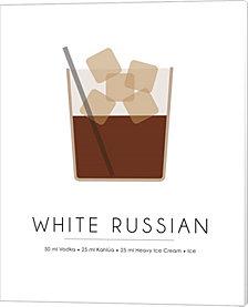 White Russian by Studio Grafiikka Canvas Art