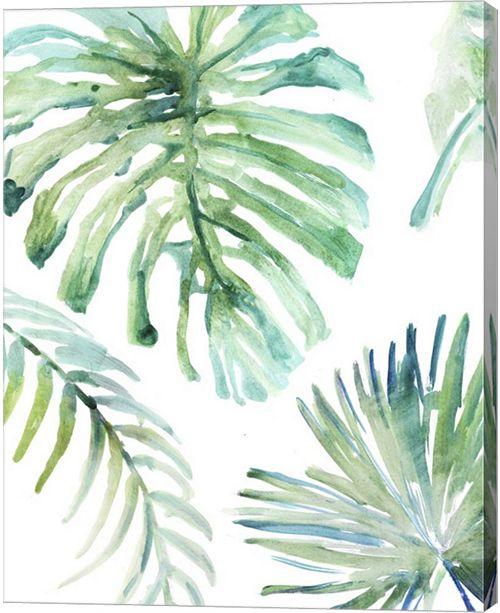 Metaverse Palm Leaf Variation By Posters International Studio Canvas Art