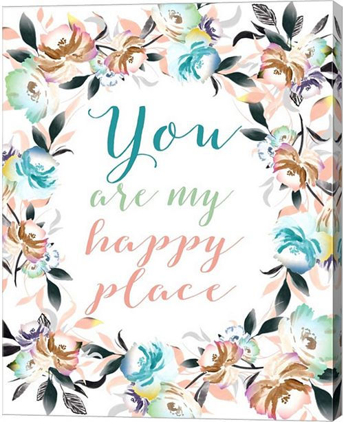Metaverse You Are My Happy Place Ii By Tara Moss Canvas Art