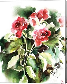 Rose By Sophia Rodionov Canvas Art