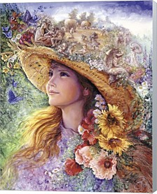 Bygone Summers By Josephine Wall Canvas Art