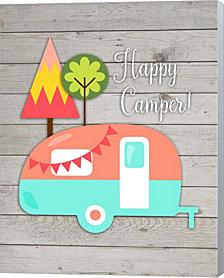 Happy Camper Ii By Tamara Robinson Canvas Art