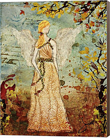 Angel Of Autumn By Janelle Nichol Canvas Art