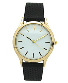 Simple Perforated Strap Watch