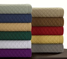 Brisbane Microfiber Solid Oversized Quilt Sets