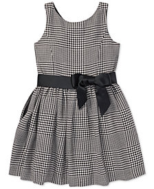 Polo Ralph Lauren Toddler Girls Glen Plaid Dress