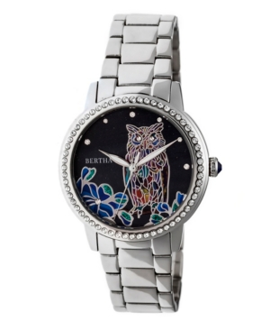Quartz Madeline Collection Silver Stainless Steel Watch 36Mm