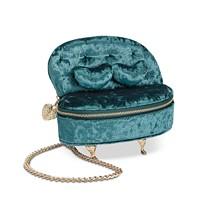 Betsey Johnson Sofa So Good Crossbody (Blue/Gold or Pink/Gold)