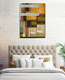 Ready2HangArt 'Down to Earth I' Abstract Canvas Wall Art Collection