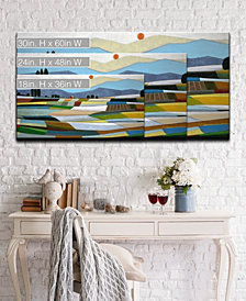 Ready2HangArt 'Fertile Pasture' Abstract Canvas Wall Art Collection