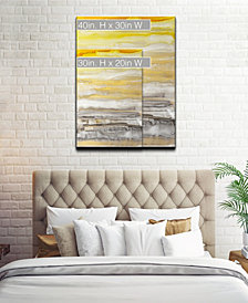 Ready2HangArt 'Latest Sunset II' Abstract Canvas Wall Art Collection