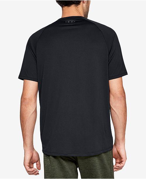 fdaeda58a2b Under Armour Men s Tech Short Sleeve Tee   Reviews - T-Shirts - Men ...