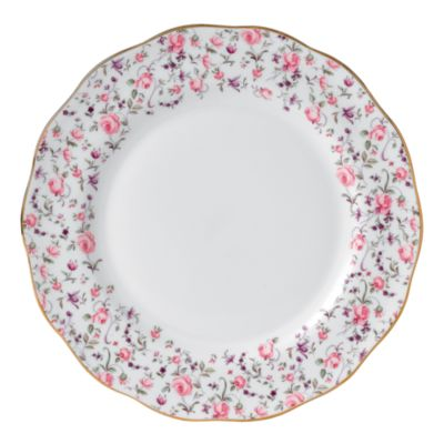 Rose Confetti Dinner Plate
