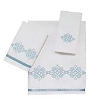 Avanti Riverview Embroidered Fingertip Towel