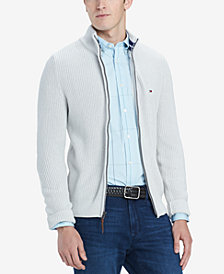 Tommy Hilfiger Men's Bernie Full-Zip Sweater