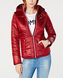 Tommy Hilfiger Sport Quilted Hooded Jacket