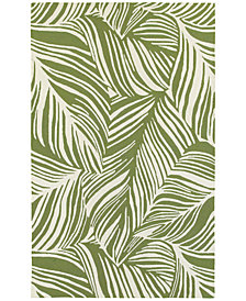Tommy Bahama Home  Atrium Indoor/Outdoor 51104 Green/Ivory 5' x 8' Area Rug