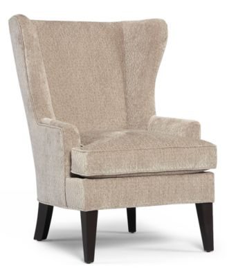 Nice Martha Stewart Collection Saybridge Fabric Accent Wing Chair